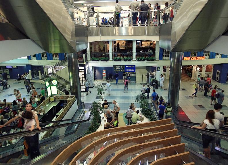 Сюрприз ждёт пассажиров аэропорта Шереметьево. Фото mosdmm.ru