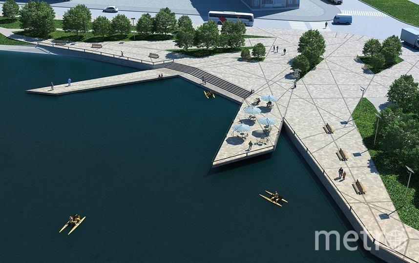 Проект будущего парка. Фото rprim.spb.ru
