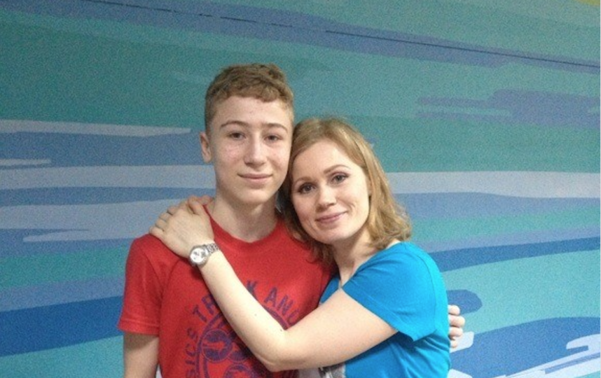 "Денис и Екатерина. Фото предоставила Екатерина Бабушкина, ""Metro"""
