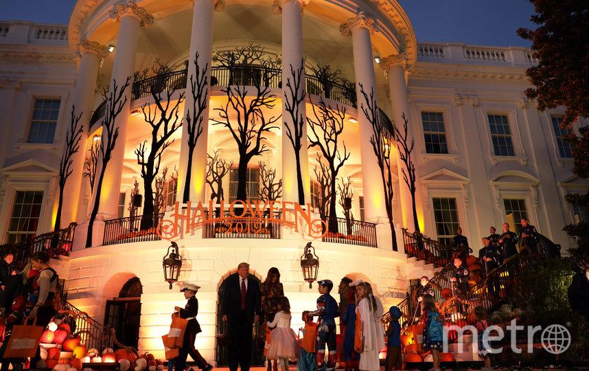 Дональд и Мелания Трамп дали старт празднованию Хэллоуина. Фото Getty