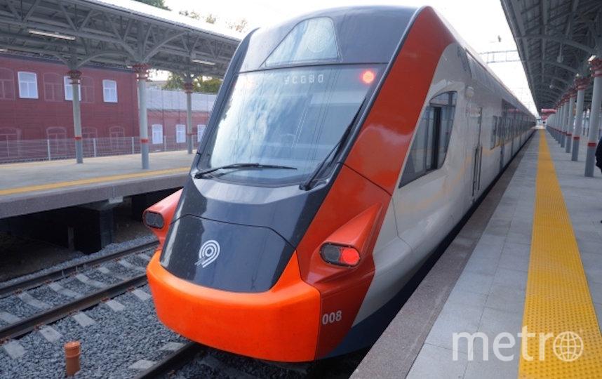 """Поезд """"Иволга"""". Фото РИА Новости"""