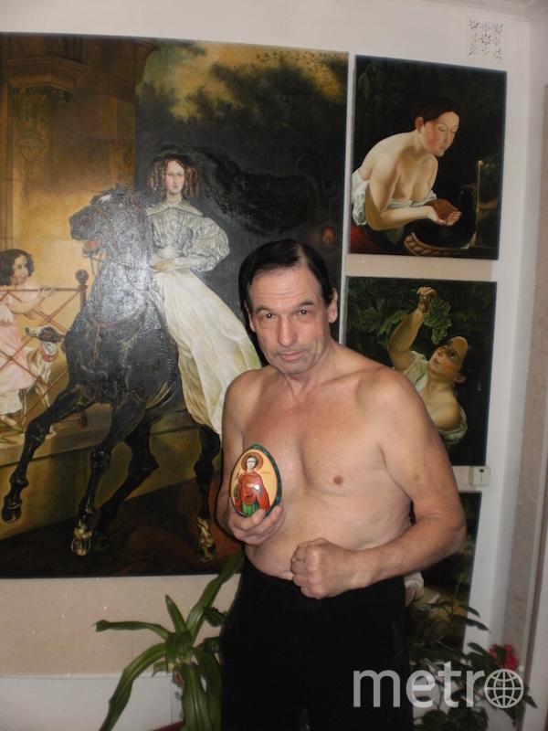"""""""Я тебе не дедушка, я – художник, мастер спорта по боксу и большой затейник"""". Фото Орешкин Николай (68 лет), """"Metro"""""""