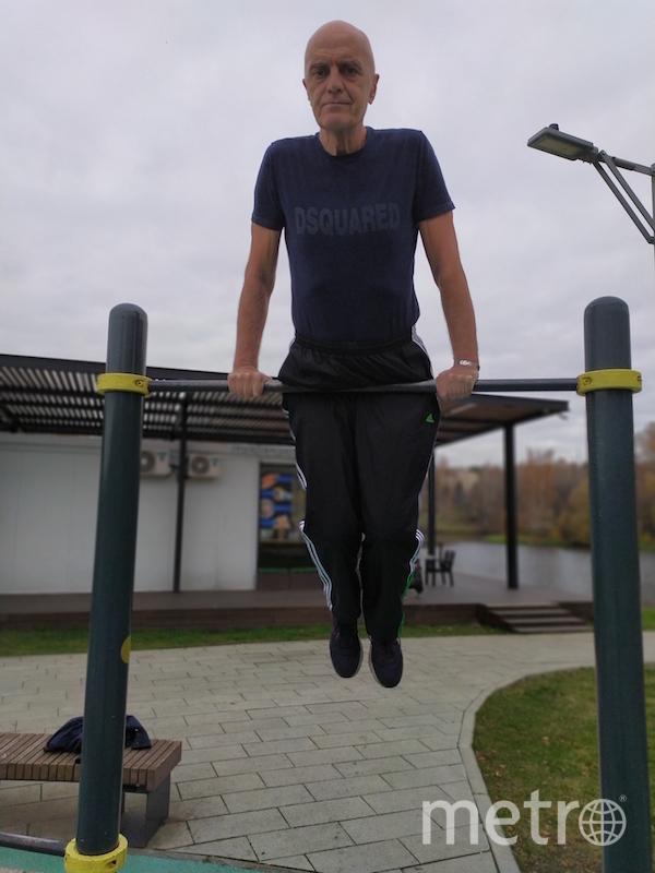 """""""Я тебе не дедушка, я, как есть, атлет. Спорт — это здоровье до преклонных лет"""". Фото Сергей Кононов (64 года), """"Metro"""""""