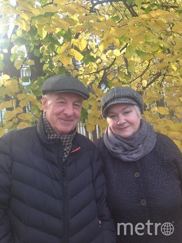 """""""Мы не дедушка с бабушкой, мы каждый день проходим по 4 км"""". Фото Лазеевы Евгений (78 лет) и Людмила (75 лет) , """"Metro"""""""