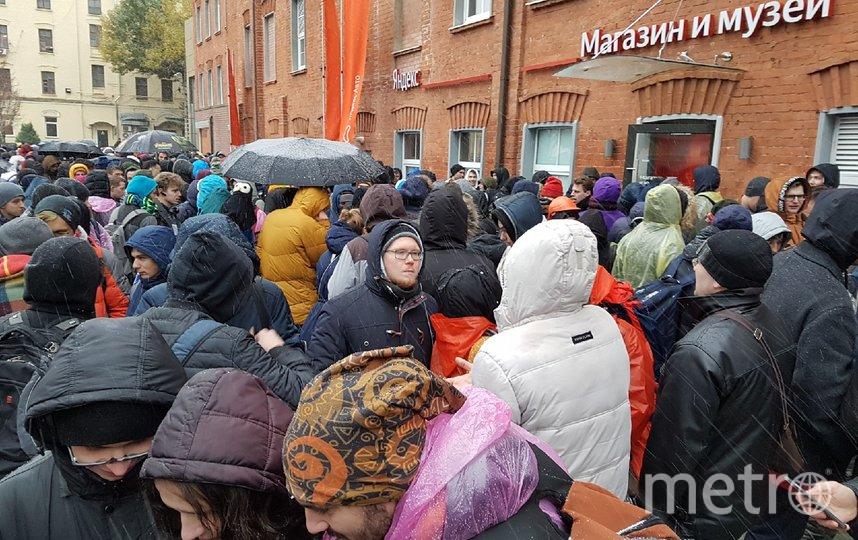 """Очередь возле """"Яндекса"""". Фото Василий Кузьмичёнок"""