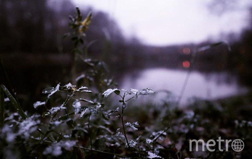 "Московский снег. Фото Скриншот Instagram/sofya_chi, ""Metro"""