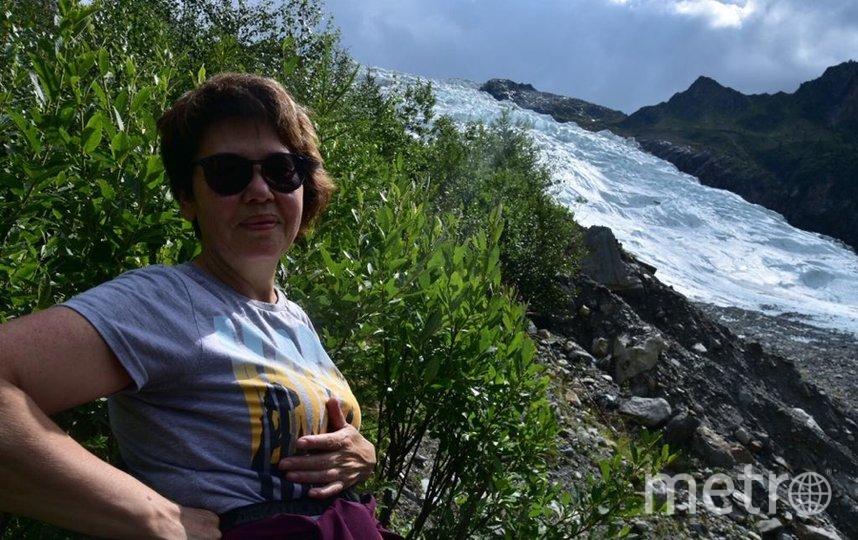 """Меня зовут Ольга, мне 56 лет. Прогулки в Альпах, перед покорением Монблана. Фото """"Metro"""""""
