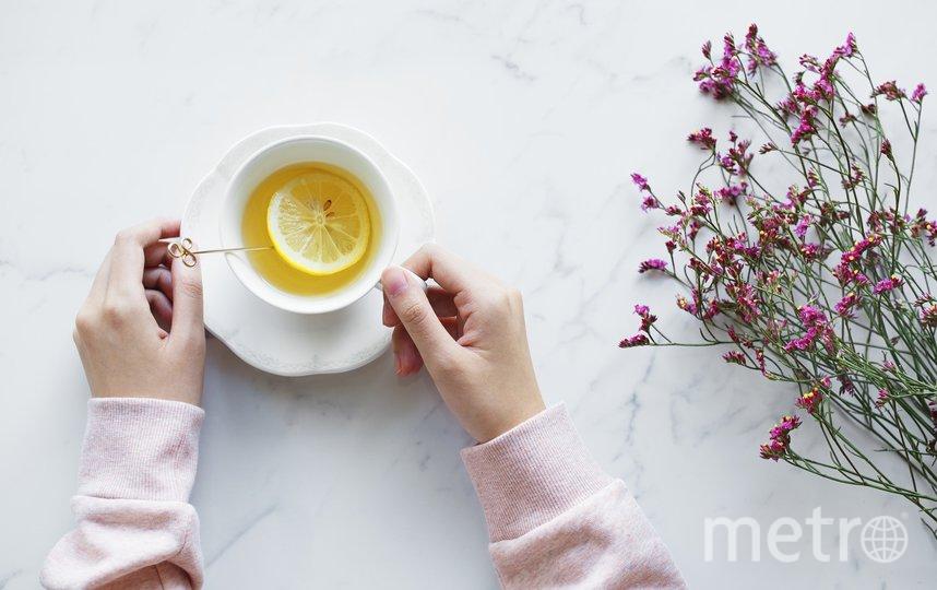 Замените кофе на некрепкий чай. Фото Pixabay