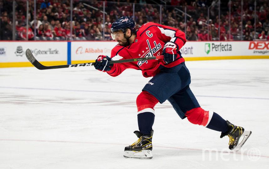 Овечкин стал самым результативным левым форвардом в истории НХЛ. Фото Getty