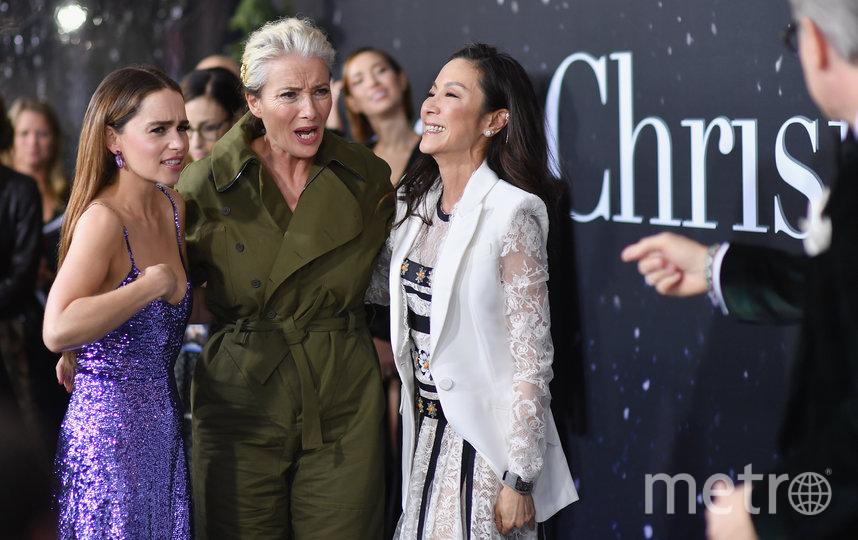 Эмилия Кларк, Эмма Томпсон и Мишель Йео. Фото AFP