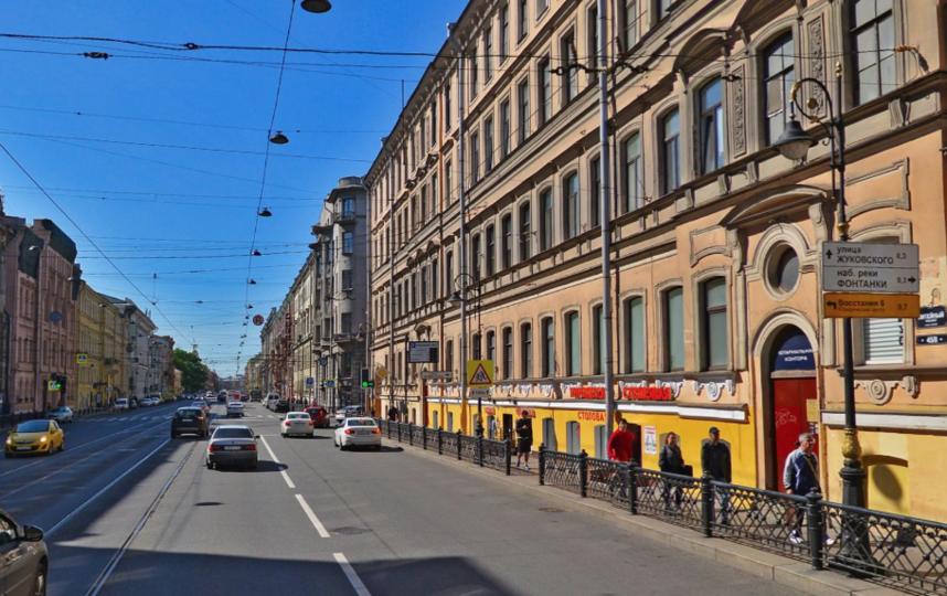 Литейный. Фото Яндекс.Панорамы