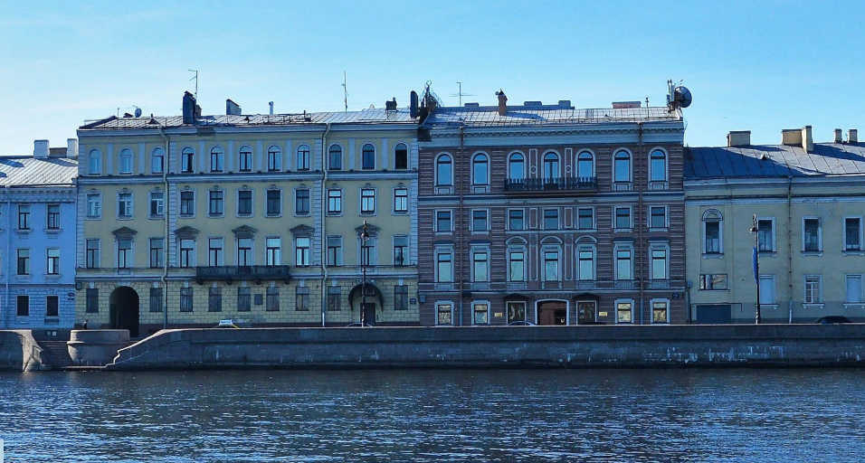Набережная Кутузова. Фото Яндекс.Панорамы