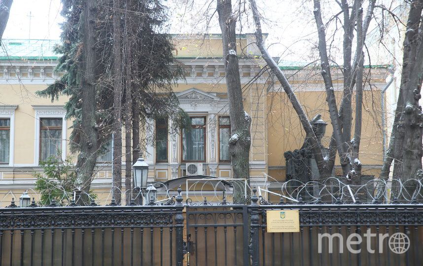 Теперь здесь находится одно из зданий посольства Украины. Фото Василий Кузьмичёнок
