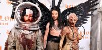 Хайди Клум, Том Каулитц и другие на жуткой вечеринке в честь Хеллоуина