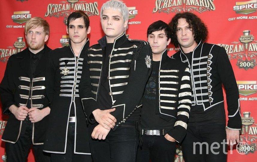 Музыкальная рок-группа My Chemical Romance. Фото Getty