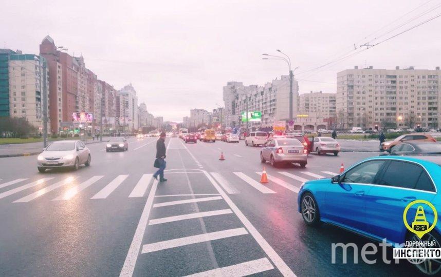 Фото с места происшествия. Фото Дорожный инспектор. Санкт-Петербург., vk.com
