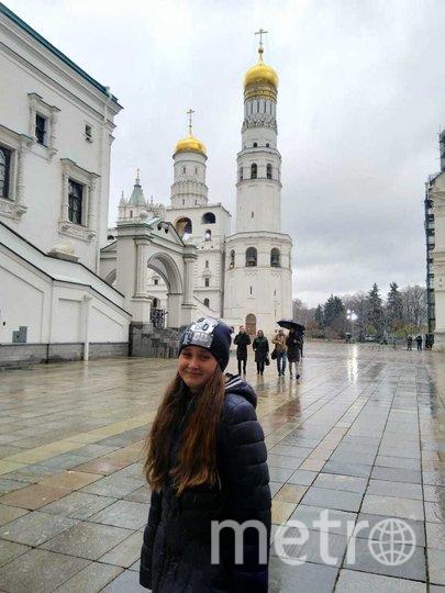 "Лиза в Москве. Фото предоставила Анастасия Романова, ""Metro"""