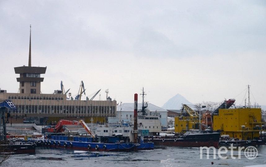 Находкинский судоремонтный завод, архивное фото. Фото РИА Новости
