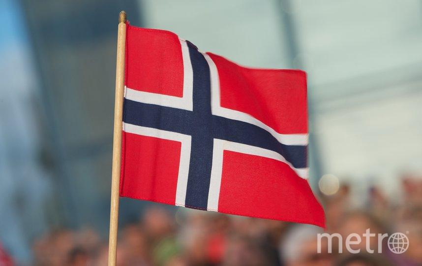 Флаг Норвегии. Фото Getty