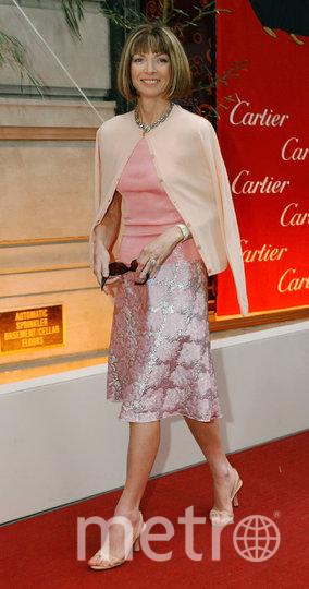 Анна Винтур в молодости. Фото Getty