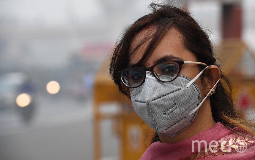 Нью-Дели охватил рекордный уровень смога. Фото AFP