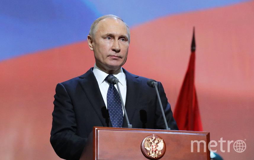 Владимир Путин. Фото AFP