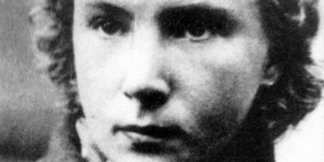 Лидия Литвяк, довоенная фотография.
