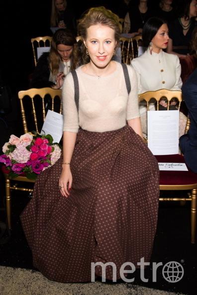 Ксения Собчак в двухтысячных выглядела так. Фото Getty