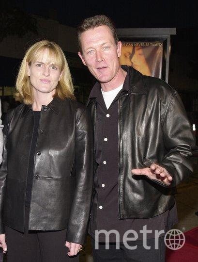 Роберт Патрик и его жена Барбара. Фото Getty