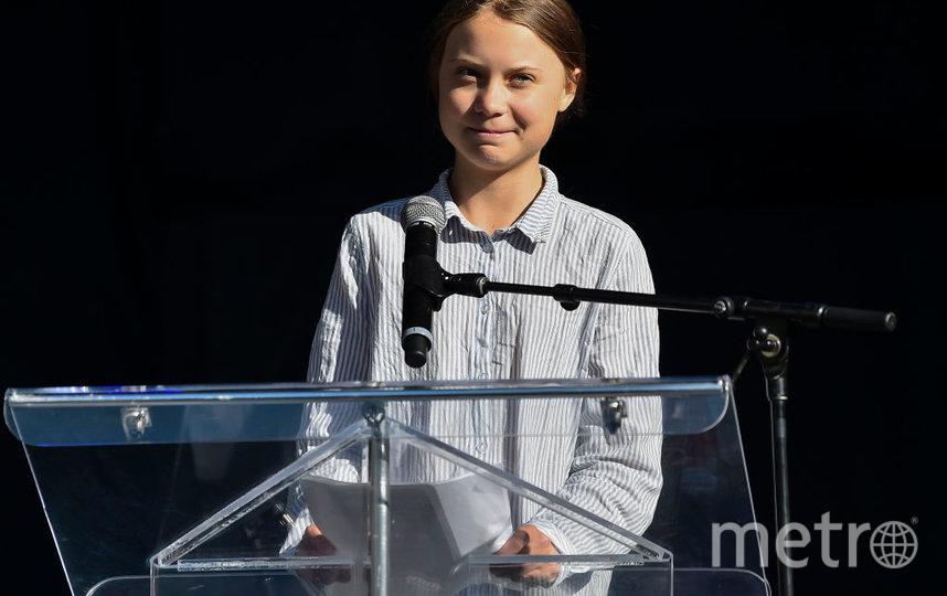 Грета Тунберг. Фото Getty