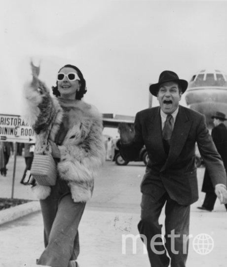 Вивьен Ли. 1953 год. В Риме с Лоуренсом Оливье. Фото Getty