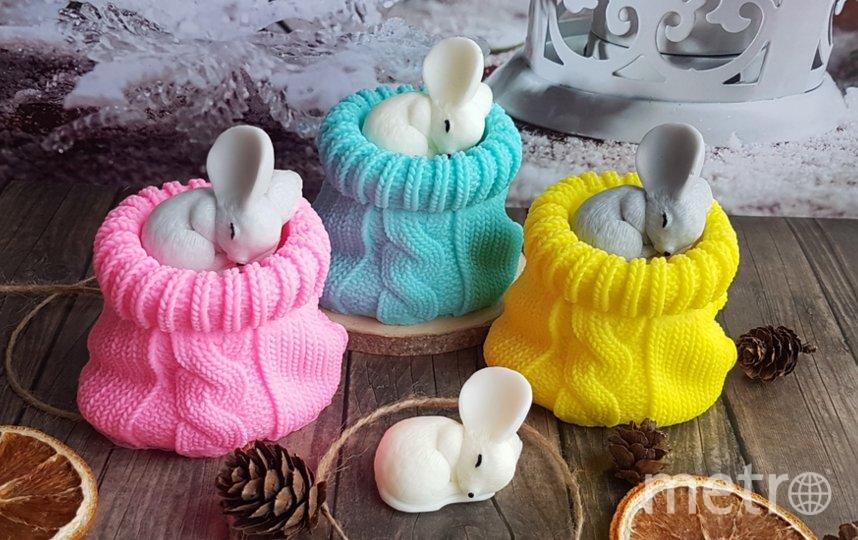 Мыло, которое производит Ольга, может быть самых разных форм. Фото https://vk.com/obyketova