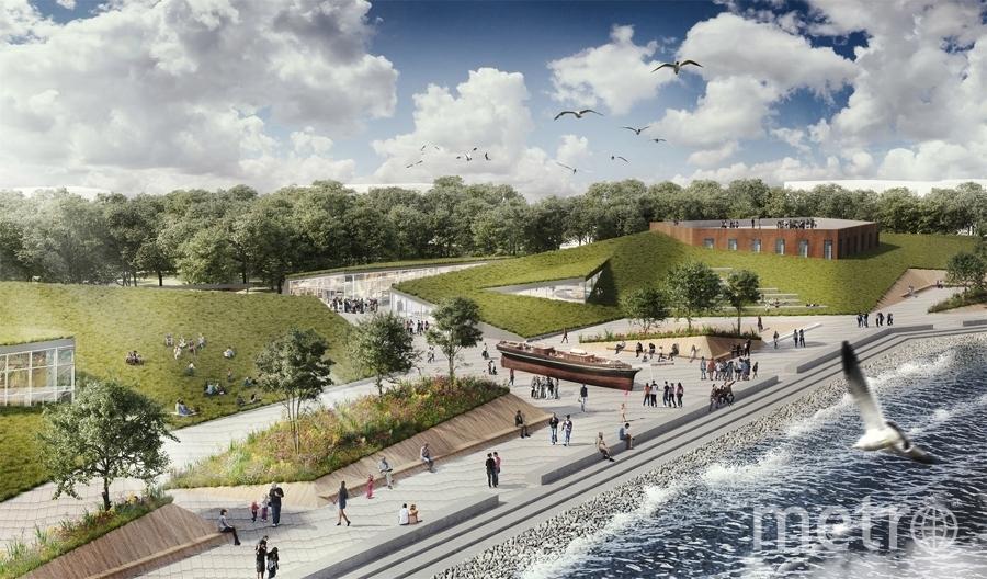 """От памятника будет зависеть, какой облик получит не только одна из главных доминант нашего парка, но и сам парк. Фото http://konkurskronshtadt.ru/, """"Metro"""""""