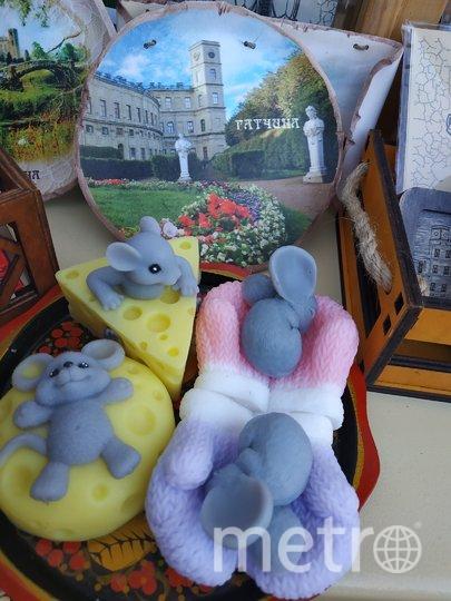 """Мыльные мышата стоят совсем недорого и пользуются особым спросом. Фото Наталья Сидоровская, """"Metro"""""""