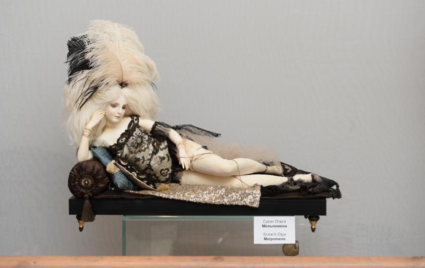 """Выставка авторских кукол """"Театральная шкатулка"""". Фото Святослав Акимов, """"Metro"""""""