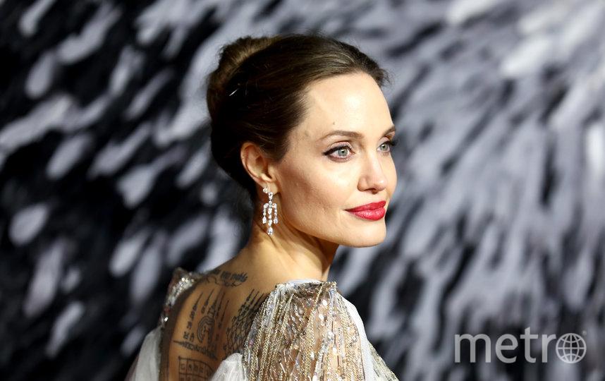 Анджелина Джоли. Архивное фото. Фото Getty