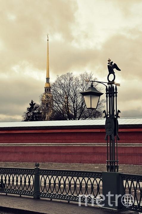 """Петропавловская крепость. Архив. Фото https://pixabay.com, """"Metro"""""""