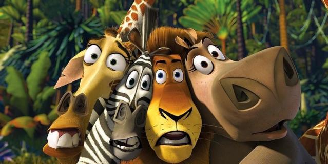 """Кадр из мультфильма """"Мадагаскар""""."""