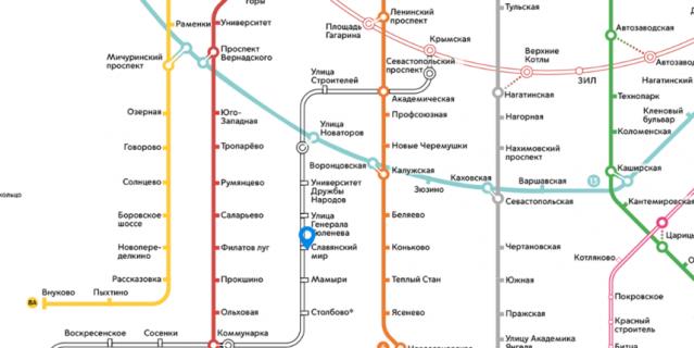 Коммунарская ветка станет дублёром южных участков Сокольнической и Калужско-Рижской линий.