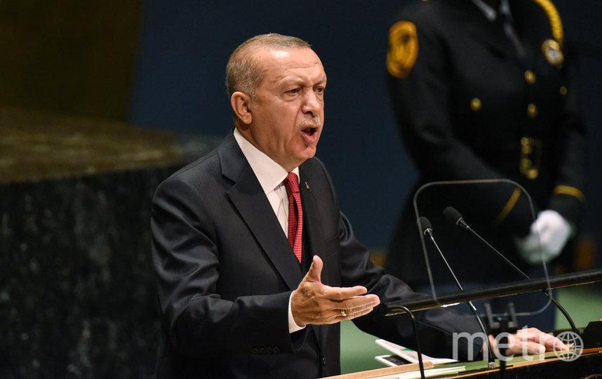 Эрдоган. Фото Getty