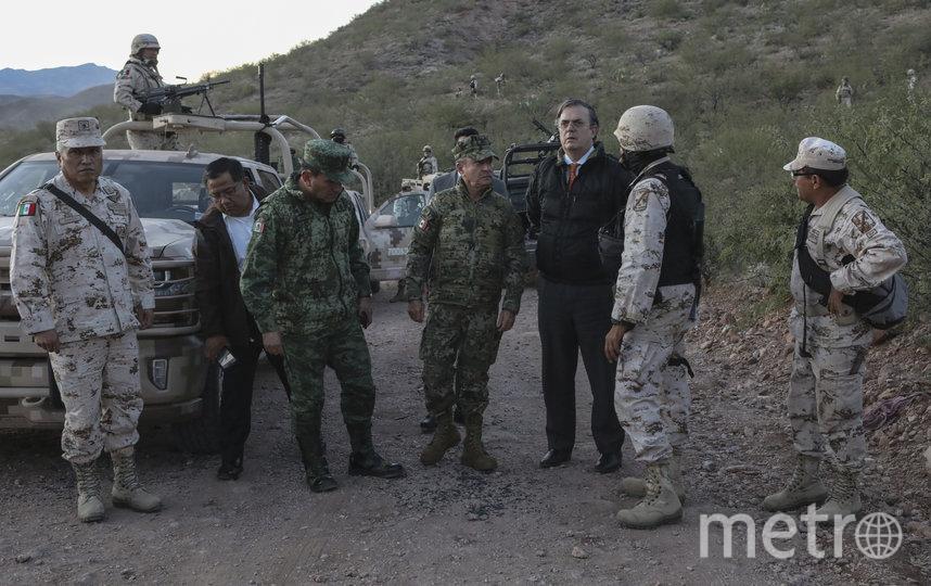 Инцидент произошёл 4 ноября в Мексике. Фото AFP