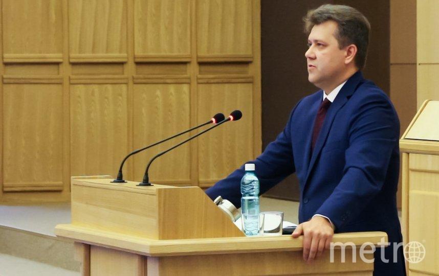 Министр финансов региона представил «бюджет согласия»-2020. Фото Законодательное собрание Новосибирской области