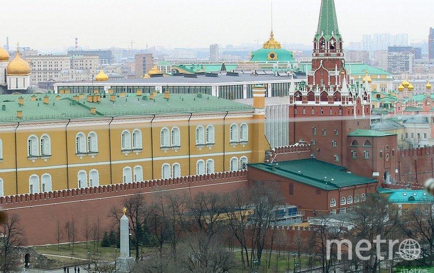 Движение в центре Москвы перекрыли из-за марша на Красной площади. Фото Василий Кузьмичёнок