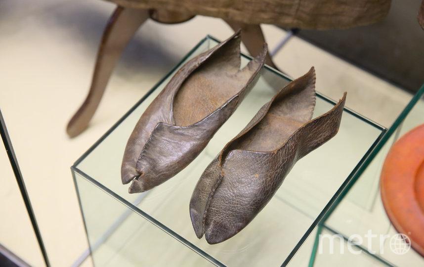 На выставке, открывшейся в Историческом музее, можно увидеть одеяние Сергия Радонежского. Фото Василий Кузьмичёнок