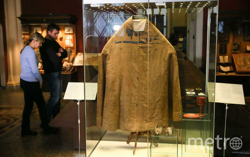 На выставке можно увидеть одеяние Сергия Радонежского. Фото Василий Кузьмичёнок