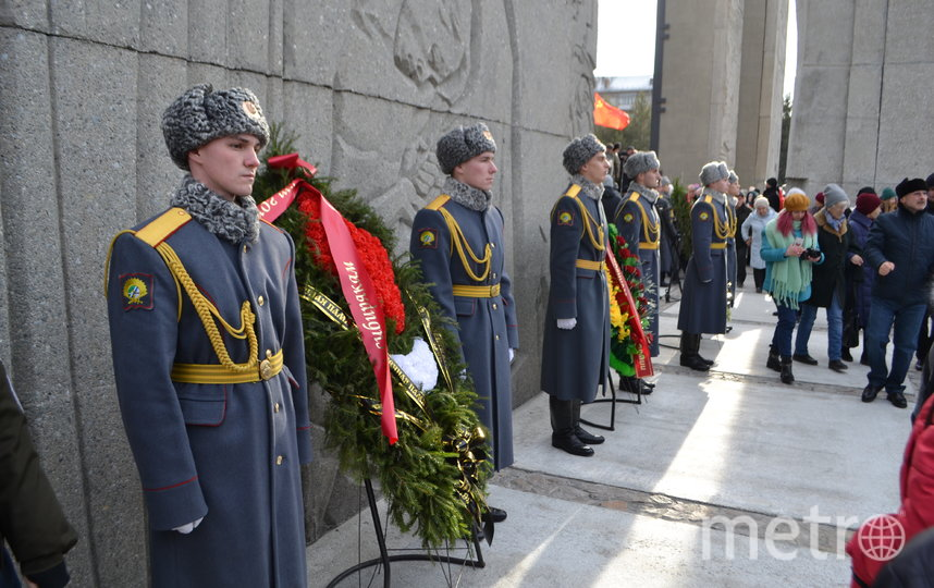 Частицу Вечного Огня доставили в регион из Москвы, с Могилы Неизвестного Солдата. Фото Правительство НСО