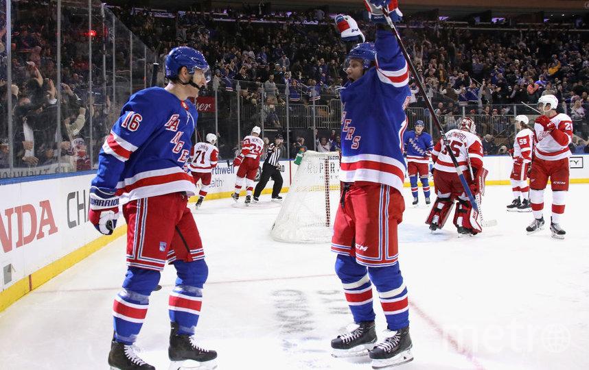 """Два очка Панарина принесли победу """"Нью-Йорк Рейнджерс"""". Фото Getty"""