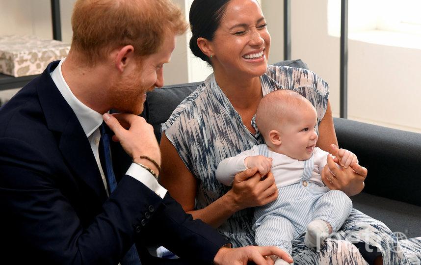 С Арчи принц Гарри и Меган Маркл появлялись в октябре этого года. Фото Getty