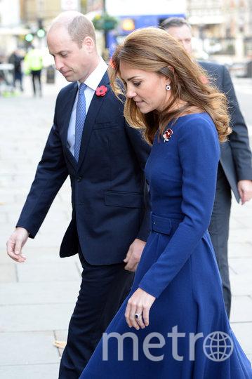 Приц Уильям и Кэтрин прибыли в Национальный фонд чрезвычайных ситуаций. Фото Getty