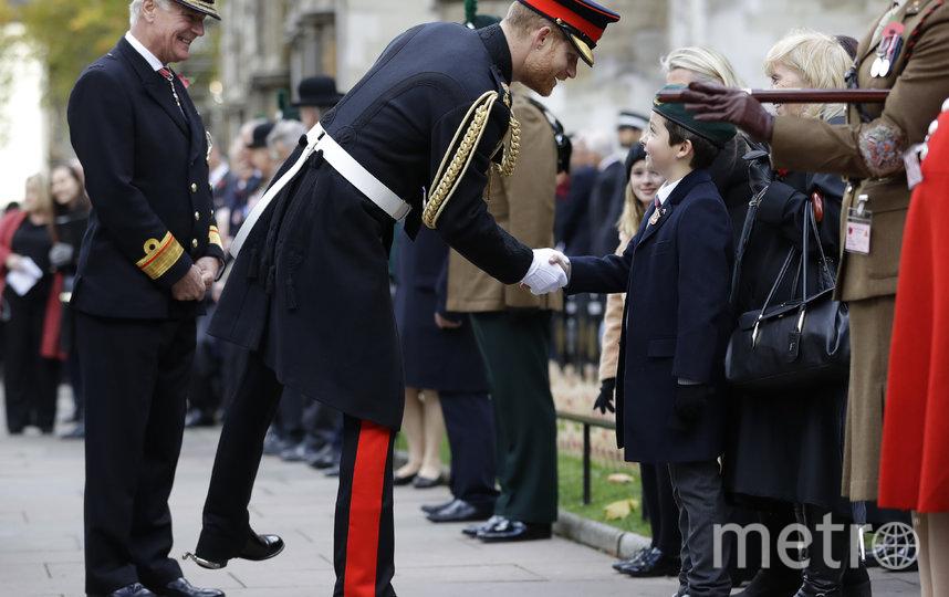 В Вестминстерском аббатстве 7 ноября. Фото Getty